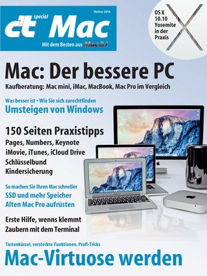 cover image of c't special Mac