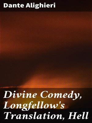 cover image of Divine Comedy, Longfellow's Translation, Hell