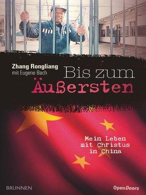 cover image of Bis zum Äußersten