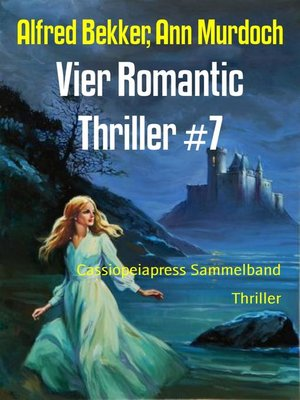 cover image of Vier Romantic Thriller #7