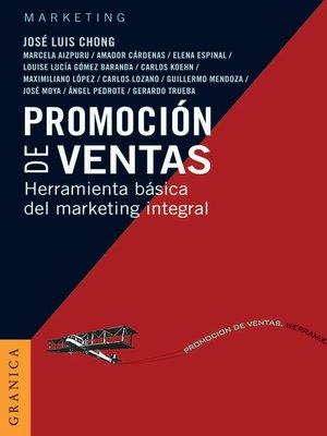 cover image of Promoción de ventas
