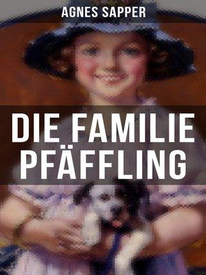 cover image of Die Familie Pfäffling