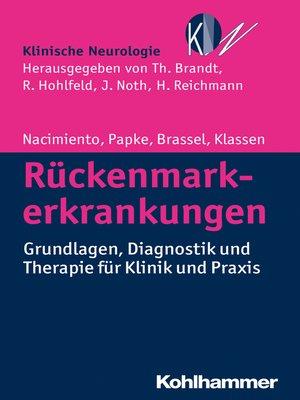 cover image of Rückenmarkerkrankungen