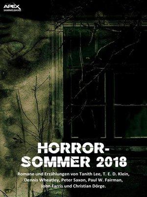 cover image of HORROR-SOMMER 2018