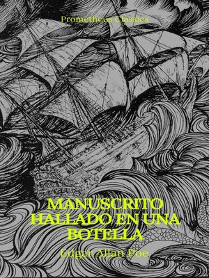 cover image of Manuscrito hallado en una botella (Prometheus Classics)