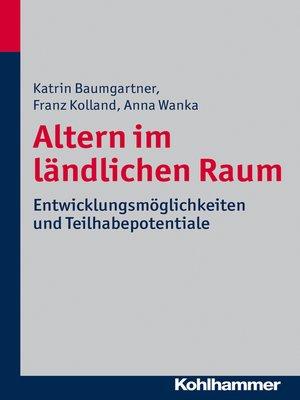 cover image of Altern im ländlichen Raum