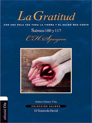 cover image of La gratitud