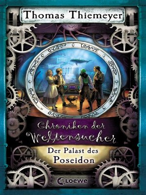 cover image of Chroniken der Weltensucher 2--Der Palast des Poseidon