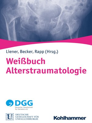 cover image of Weißbuch Alterstraumatologie