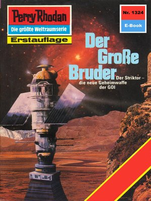 cover image of Perry Rhodan 1324