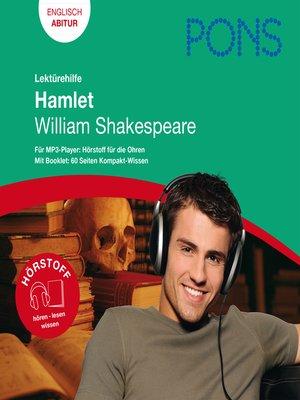 cover image of PONS Lektürehilfe--William Shakespeare, Hamlet