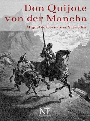 cover image of Don Quijote von der Mancha--Illustrierte Fassung