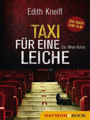 cover image of Taxi für eine Leiche