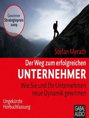 cover image of Der Weg zum erfolgreichen Unternehmer