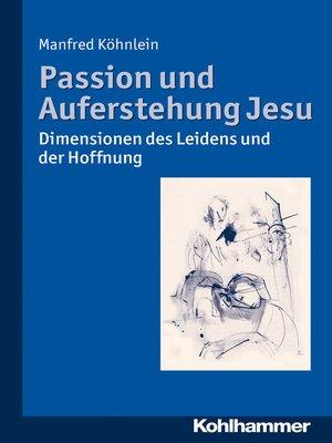 cover image of Passion und Auferstehung Jesu