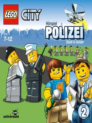 cover image of Folge 2--Polizei--Stadt in Gefahr