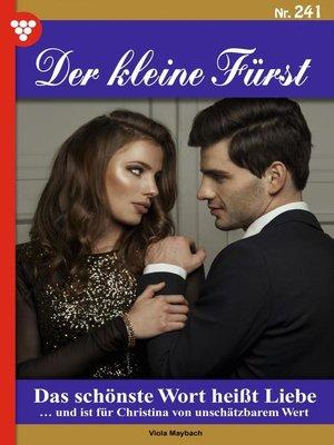 cover image of Der kleine Fürst 241 – Adelsroman