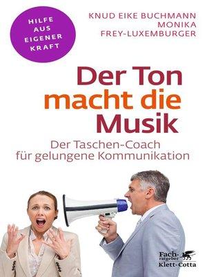 cover image of Der Ton macht die Musik