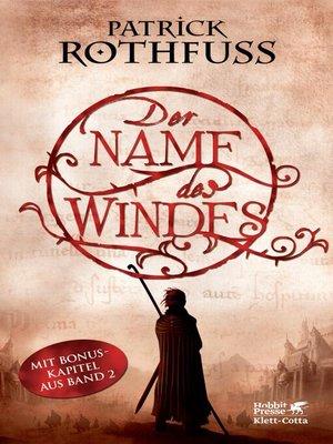 cover image of Der Name des Windes