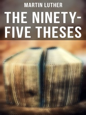 cover image of The Ninety-Five Theses