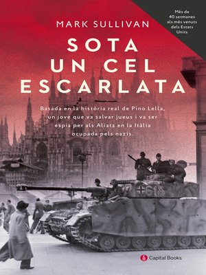cover image of Sota un cel escarlata