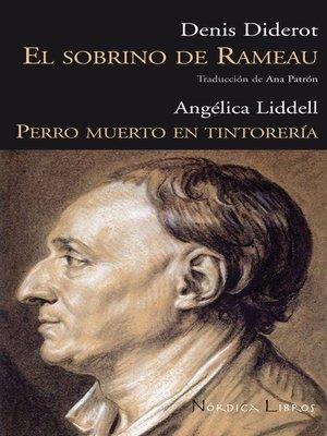 cover image of Sobrino de Rameau, El / Perro muerto en tintorería