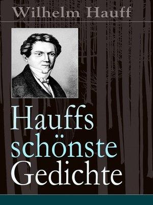 cover image of Hauffs schönste Gedichte