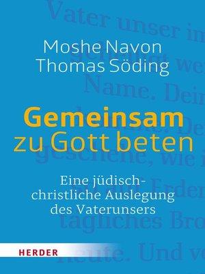cover image of Gemeinsam zu Gott beten