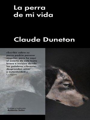 cover image of La perra de mi vida