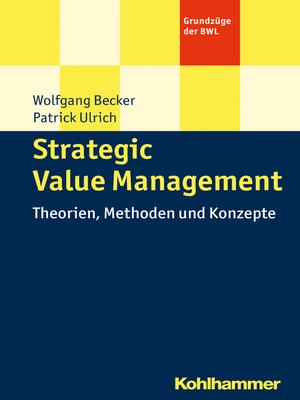 cover image of Strategic Value Management