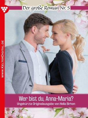 cover image of Der große Roman 5--Liebesroman