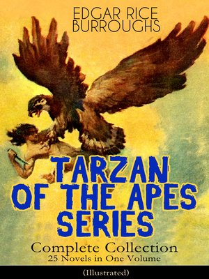 cover image of TARZAN OF THE APES SERIES--Complete Collection