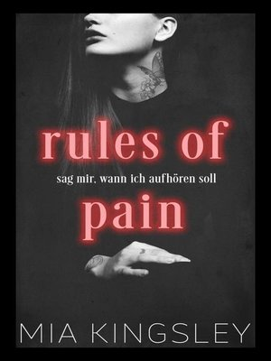 cover image of Rules of Pain