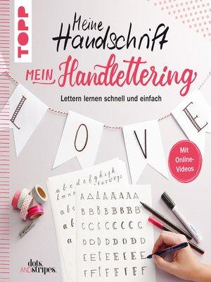 cover image of Meine Handschrift--Mein Handlettering