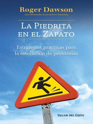 cover image of La piedrita en el zapato
