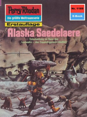 cover image of Perry Rhodan 1189