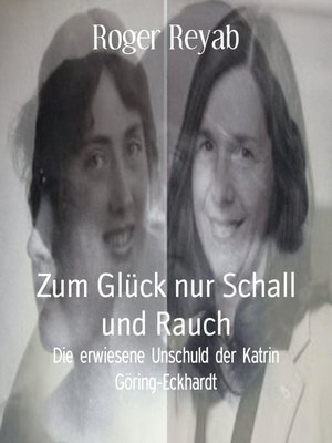 cover image of Zum Glück nur Schall und Rauch