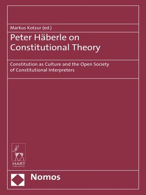 cover image of Peter Häberle on Constitutional Theory