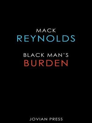 cover image of Black Man's Burden