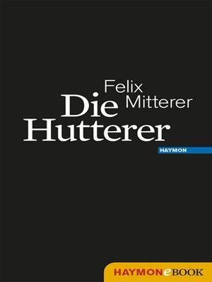 cover image of Die Hutterer