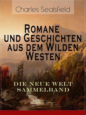 cover image of Romane und Geschichten aus dem Wilden Westen