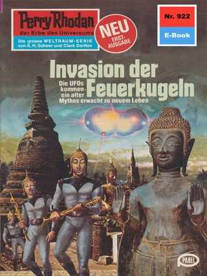 cover image of Perry Rhodan 922