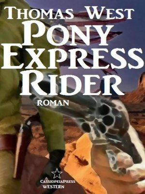 cover image of Pony Express Rider