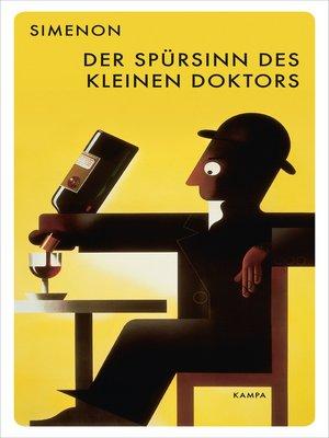 cover image of Der Spürsinn des kleinen Doktors