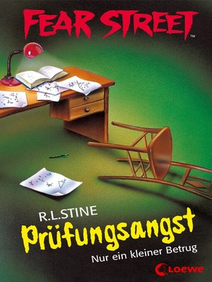cover image of Fear Street 40--Prüfungsangst