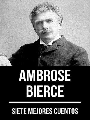 cover image of 7 mejores cuentos de Ambrose Bierce