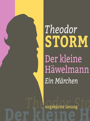 cover image of Theodor Storm