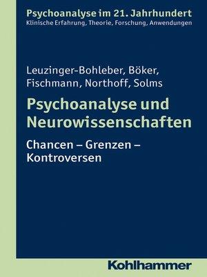 cover image of Psychoanalyse und Neurowissenschaften