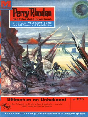 cover image of Perry Rhodan 270
