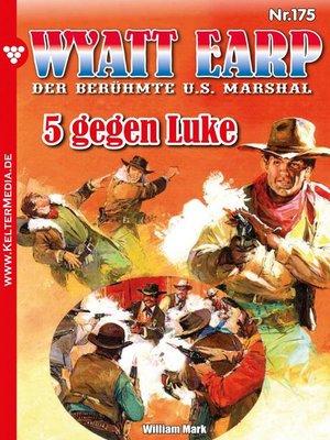 cover image of Wyatt Earp 175 – Western
